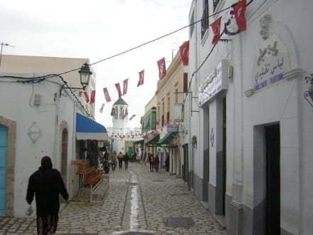 Gasse in Mahdia - Altstadt Mahdia
