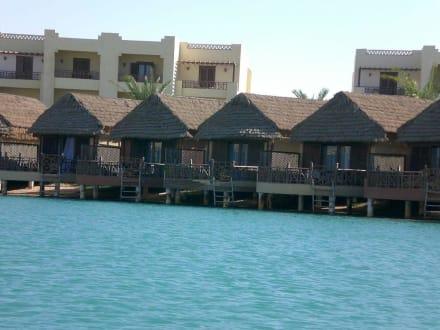 Honeymoon Suites Möwenpick Hotel - Lagunenfahrt durch El Gouna