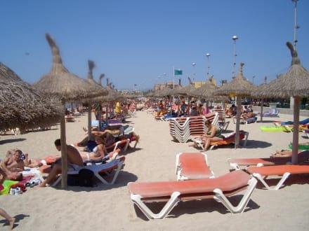 Strand am Ballermann 4 - Strand El Arenal/S'Arenal