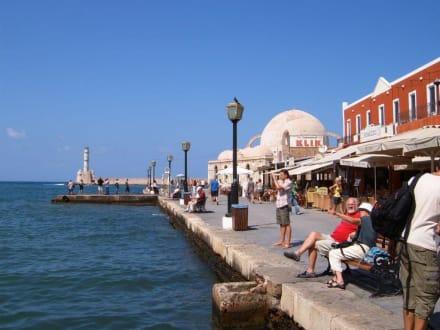 Die andere Seite des Hafens - Hafen Chania