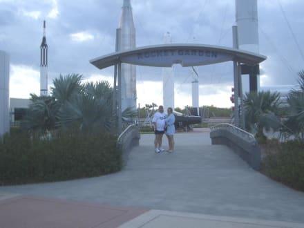 Eingang zum Raketenpark - Kennedy Space Center