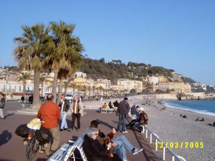 Küste von Nizza - Promenade des Anglais