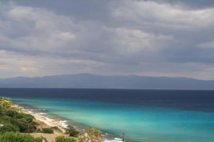 Aussicht vom Hotel - Hotel Blue Bay
