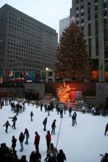Rockefeller Center, Ice Rink - Rockefeller Center Ice Skating Rink