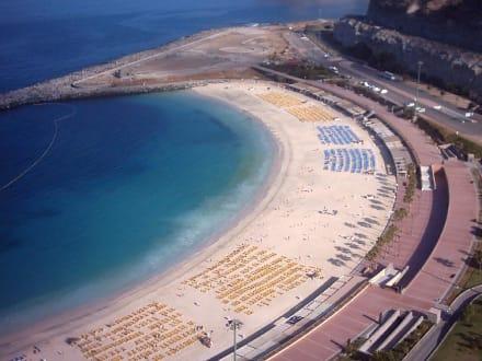 Blick aus meinem Hotelzimmer auf Playa Amadores - Strand Playa de Amadores
