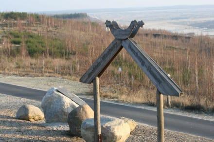 Blick in Richtung Osten - Aussichtsturm am schweren Berg
