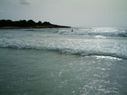 Meer und Strand Hotelnähe Calimera Badia Park - Strand Sa Coma
