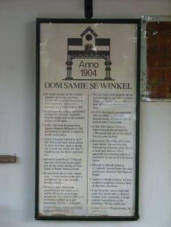 Die Geschichte in Afrikaans - Onkel Sams Laden