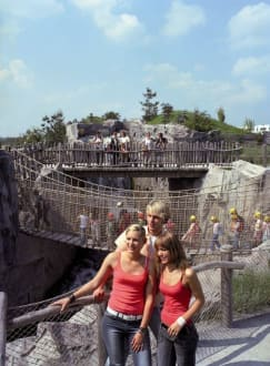 Die Hängebrücke - ZOOM Erlebniswelt Gelsenkirchen (Zoo)