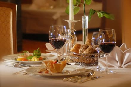 Restaurant - Hotel Alpenhof