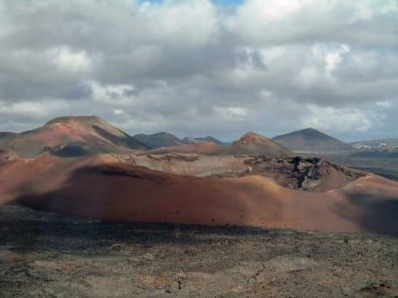 Feuerberge auf Lanzarote - Nationalpark Timanfaya (Feuerberge)