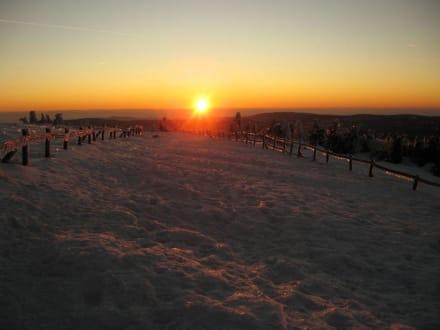 Sonnenuntergang auf dem Brocken - Brocken