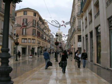 Malaga Altstadt Karte.Bilder Einkaufsstrasse In Malaga Reisetipps