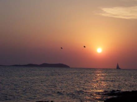 Traum-Sonnenuntergang - Cafe del Mar
