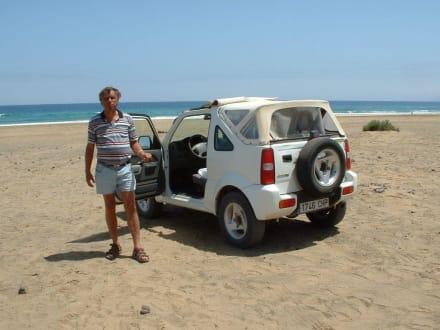 Mit dem Jeep durch den Süden von Fuerteventura - Playa Barca