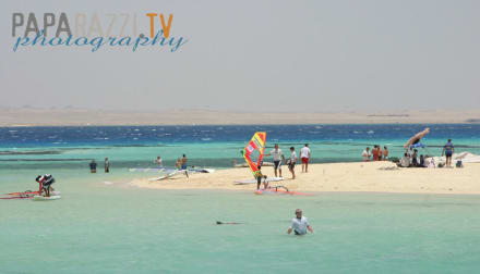 Tubya Island Surfplatz - Windsurfschule Vasco Renna