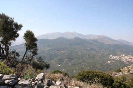 Das antike Driros - auf dem Gipfel - Das antike Olympia