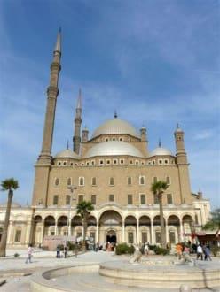 Von der Rückseite - Alabaster-Moschee / Mohammed Ali Moschee