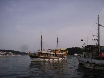 Bootsfahrt - Hafen Rovinj