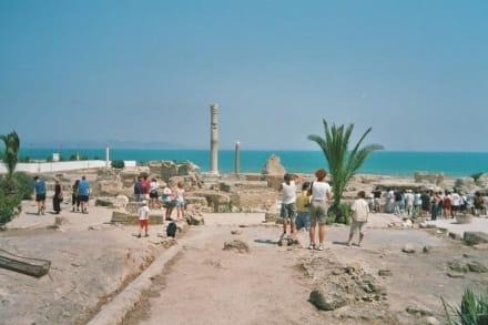 Karthago - Antonius Pius Thermen - Ausgrabungen Karthago