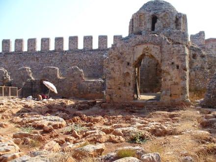 Auf der Burg 3. - Burg von Alanya  (Ic Kale)