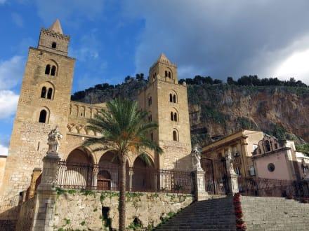 Außenansicht der Kathedrale von Cefalù - Kathedrale von Cefalù