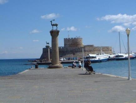 Rhodos-Stadt,Hafen - Agios Nikolaos Kastell