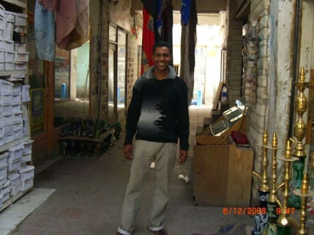 Unser Tour Guide in Downtown - Zentrum Hurghada