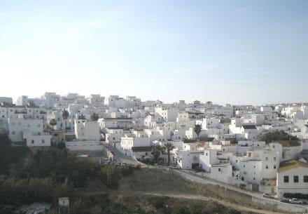 Blick auf Vejer von der Festung aus - Altstadt Vejer de la Frontera