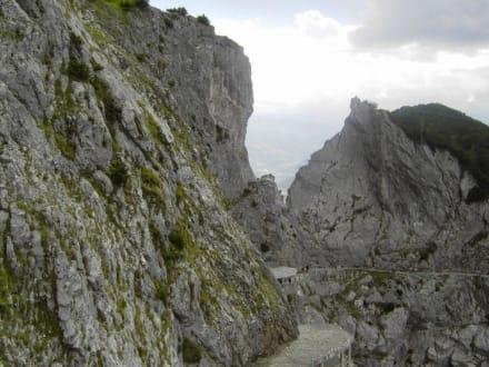 Weg zur Höhle - Eisriesenwelt Werfen