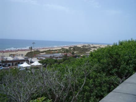 Blick zum Strand - Strand Playa del Ingles
