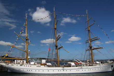 Die Gorch Fock in Kiel (Tirpitzhafen) - Schulschiff Gorch Fock