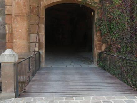 Zugbrücke - Castell de Montjuïc