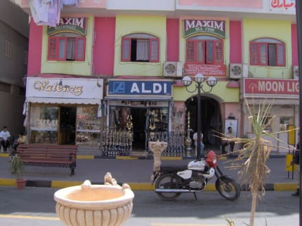 Aldi in Downtown Hurghada - Zentrum Hurghada
