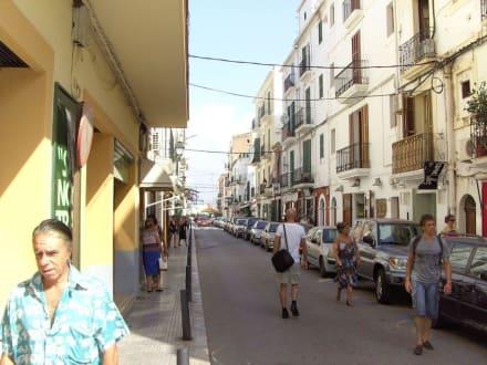 Straße in der Unterstadt - Unterstadt Sa Penya