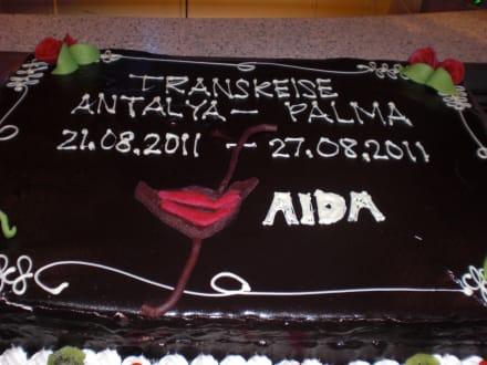 Abschiedstorte - AIDAaura