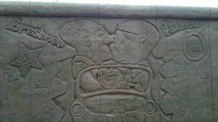 Berliner Mauer - Sandskulpturen Festival