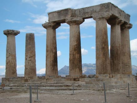 Der Apollo-Tempel - Das antike Korinth