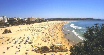 Strand von Praia da Rocha - Strand Praia da Rocha