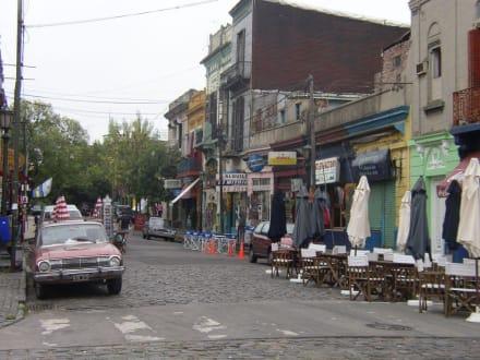 Straße in La Boca - La Boca