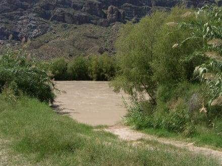 Santa Elena Canyon River Access - Big Bend Nationalpark