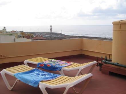 """Relaxbereich vor unserem """"Penthous"""" Zimmer 600  - Hotel Marquesa"""
