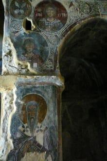 Detail an einer Säule - Kapelle Diosoritis
