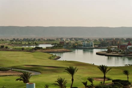 Golfplatz - Lagunenfahrt durch El Gouna