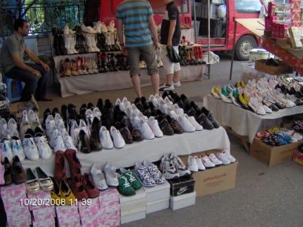 Einkaufsparadies Manavgat Bazar am Montag - Markt