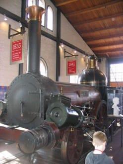 ...aus der Eisenbahn-Austellung - Deutsches Technikmuseum Berlin