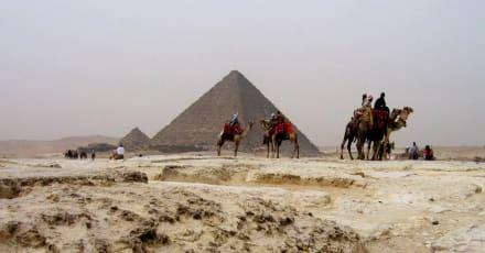 Die kleine der großen drei - Pyramiden von Gizeh