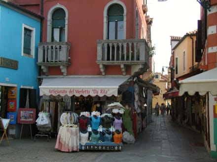 Einkaufsgassen - Insel Burano