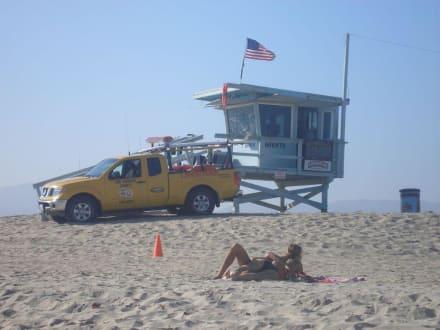 Baywatch am Venice Beach - Venice Beach