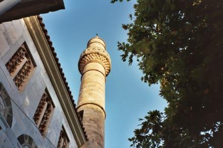 Kos Stadt, Platane des Hippokrates und Loggienmoschee - Hadji Hassan Moschee